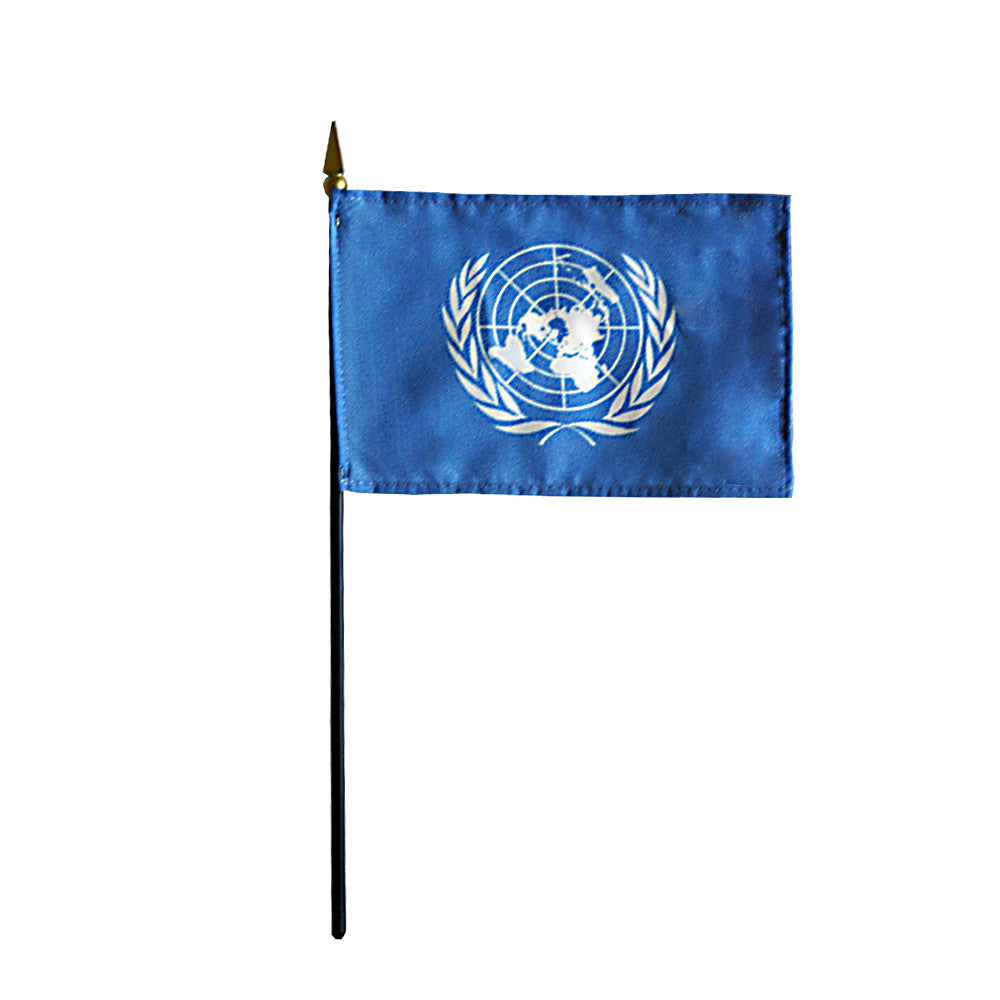 Miniature United Nations Flag - ColorFastFlags | All the flags you'll ever need!