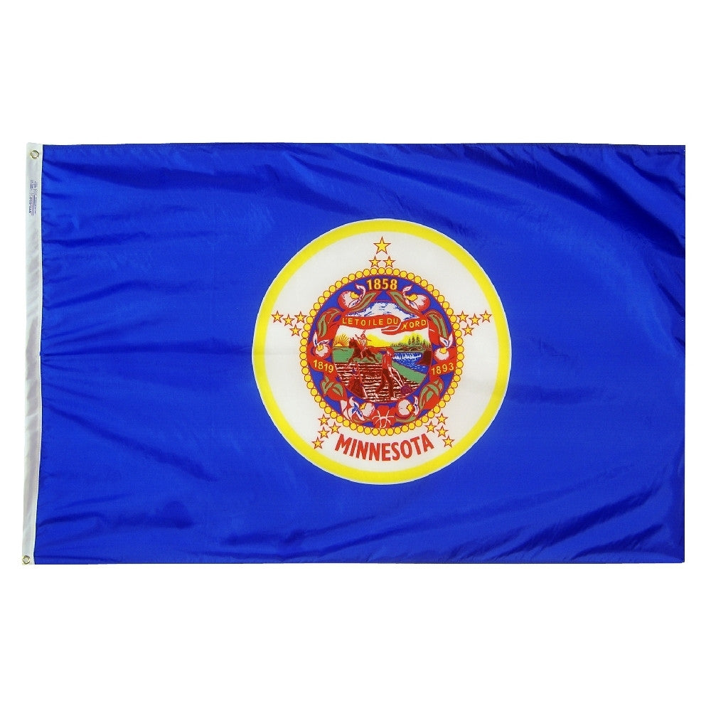 Minnesota State Flags - ColorFastFlags | All the flags you'll ever need!