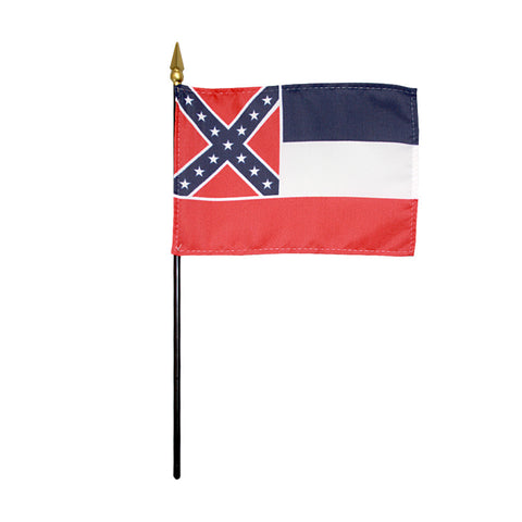Miniature Flag - Mississippi - ColorFastFlags | All the flags you'll ever need!