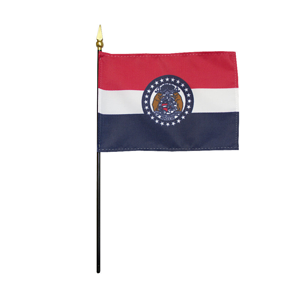 Miniature Flag - Missouri - ColorFastFlags | All the flags you'll ever need!