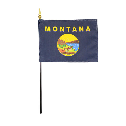 Miniature Flag - Montana - ColorFastFlags | All the flags you'll ever need!