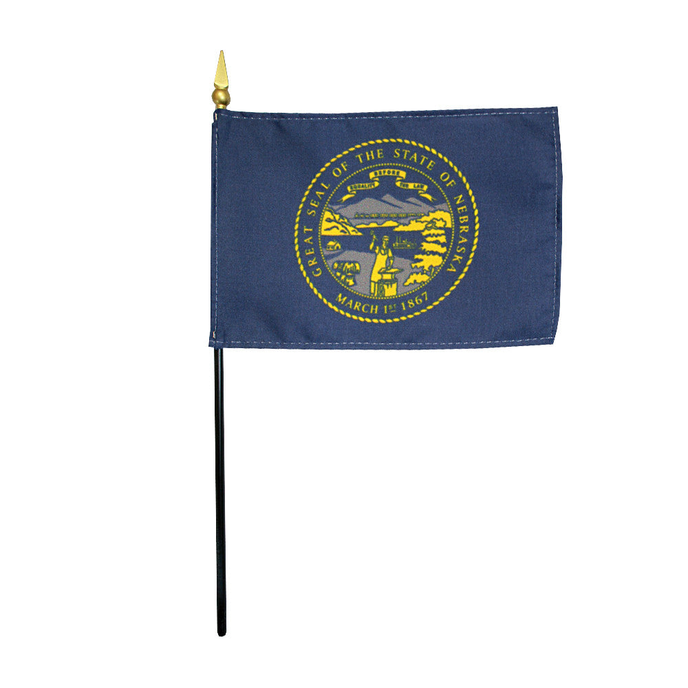 Miniature Flag - Nebraska - ColorFastFlags | All the flags you'll ever need!