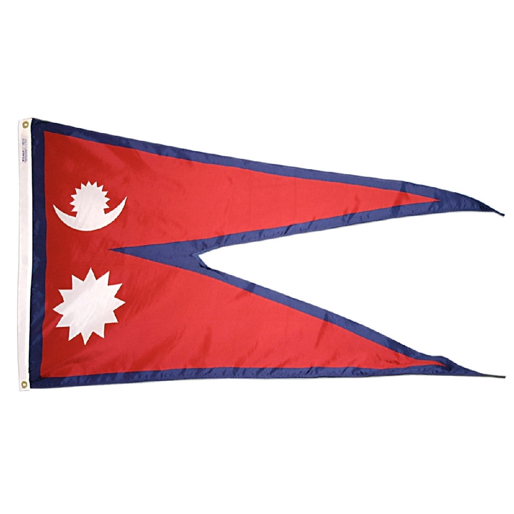 Nepal Flag - ColorFastFlags | All the flags you'll ever need!
