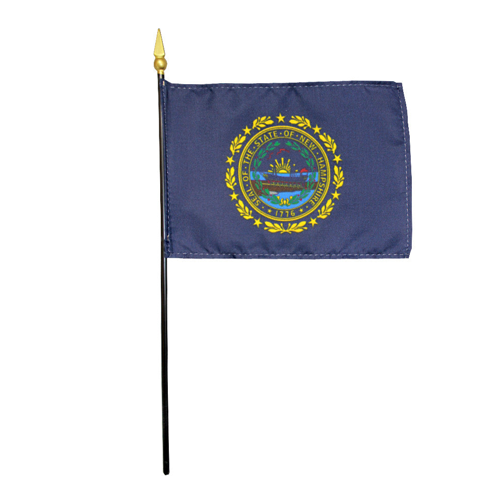 Miniature Flag - New Hampshire - ColorFastFlags | All the flags you'll ever need!