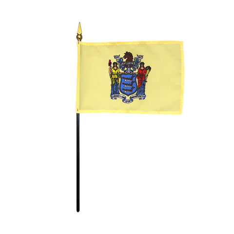 Miniature Flag - New Jersey - ColorFastFlags | All the flags you'll ever need!