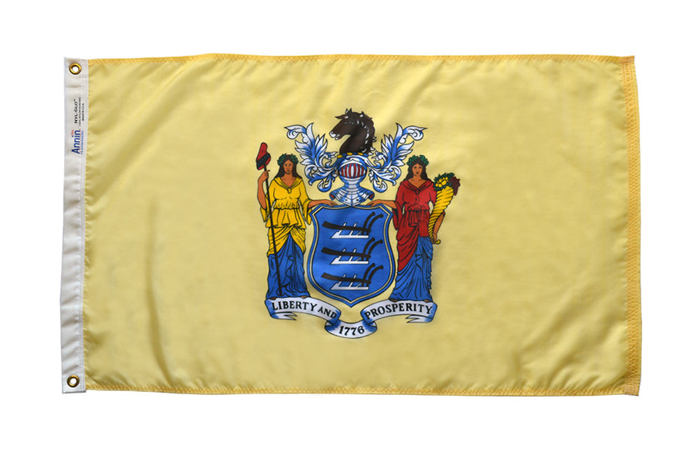 New Jersey State Flags - ColorFastFlags | All the flags you'll ever need!