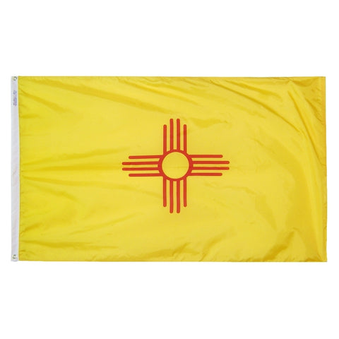 New Mexico Courtesy Flag - ColorFastFlags | All the flags you'll ever need!