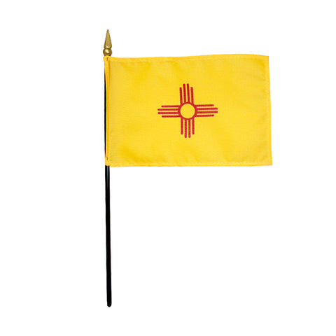 Miniature Flag - New Mexico - ColorFastFlags | All the flags you'll ever need!