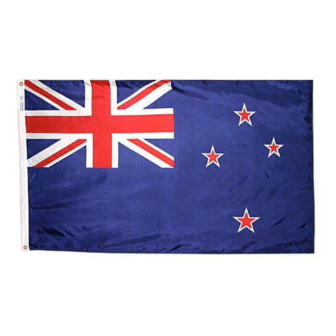 "New Zealand Courtesy Flag 12"" x 18"" - ColorFastFlags 