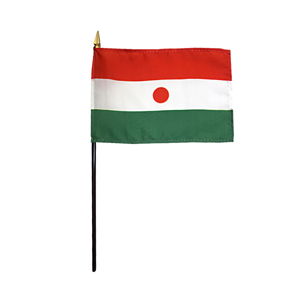 Miniature Niger Flag - ColorFastFlags | All the flags you'll ever need!