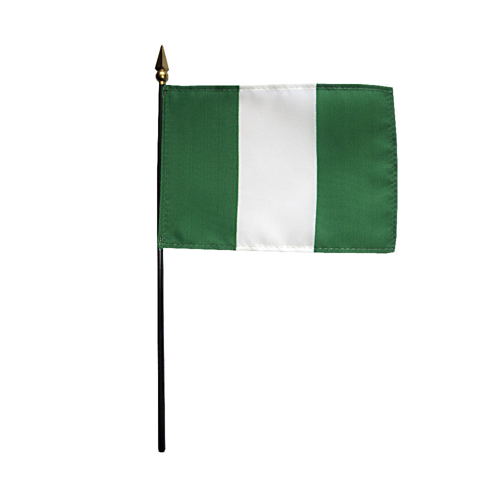 Miniature Nigeria Flag - ColorFastFlags | All the flags you'll ever need!