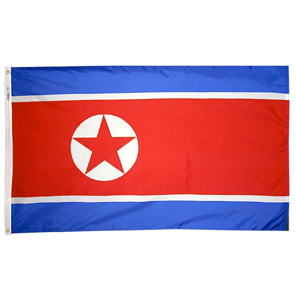 North Korea Flag -