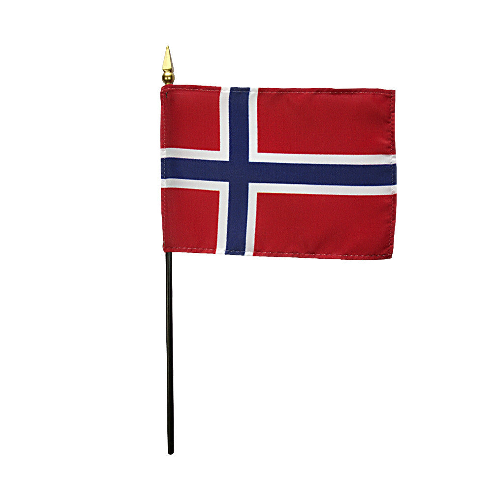 Miniature Norway Flag - ColorFastFlags | All the flags you'll ever need!