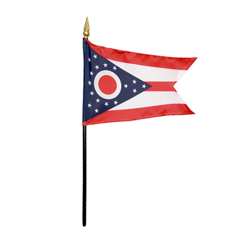Miniature Flag - Ohio - ColorFastFlags | All the flags you'll ever need!