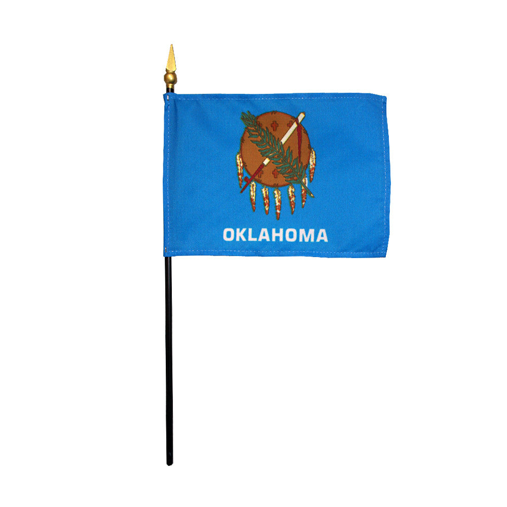 Miniature Flag - Oklahoma - ColorFastFlags | All the flags you'll ever need!