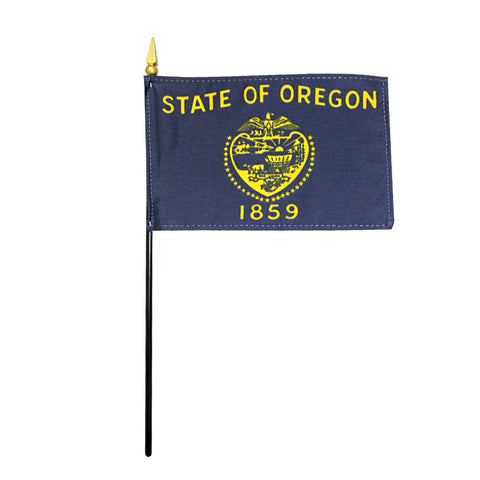 Miniature Flag - Oregon - ColorFastFlags | All the flags you'll ever need!