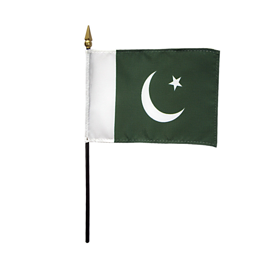 Miniature Pakistan Flag - ColorFastFlags | All the flags you'll ever need!