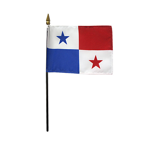 Miniature Panama Flag - ColorFastFlags | All the flags you'll ever need!