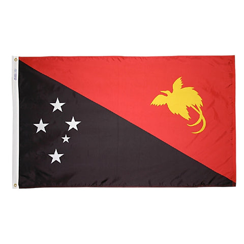 Papua New Guinea Flag -