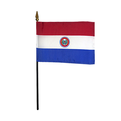 Miniature Paraguay Flag - ColorFastFlags | All the flags you'll ever need!