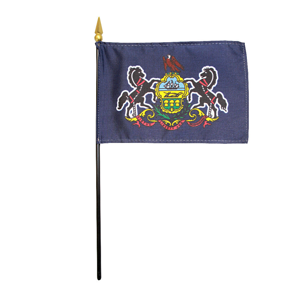 Miniature Flag - Pennsylvania - ColorFastFlags | All the flags you'll ever need!