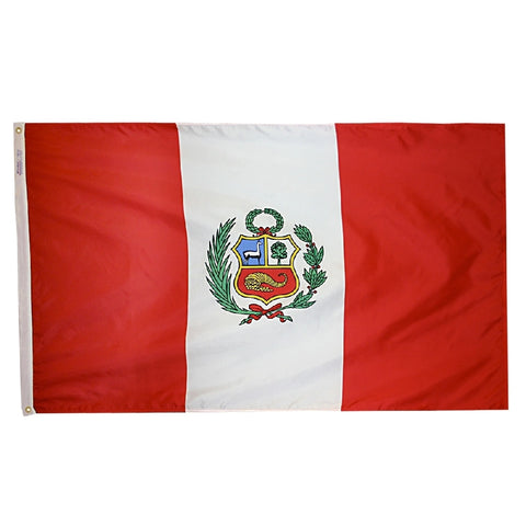 Peru Government Flag -