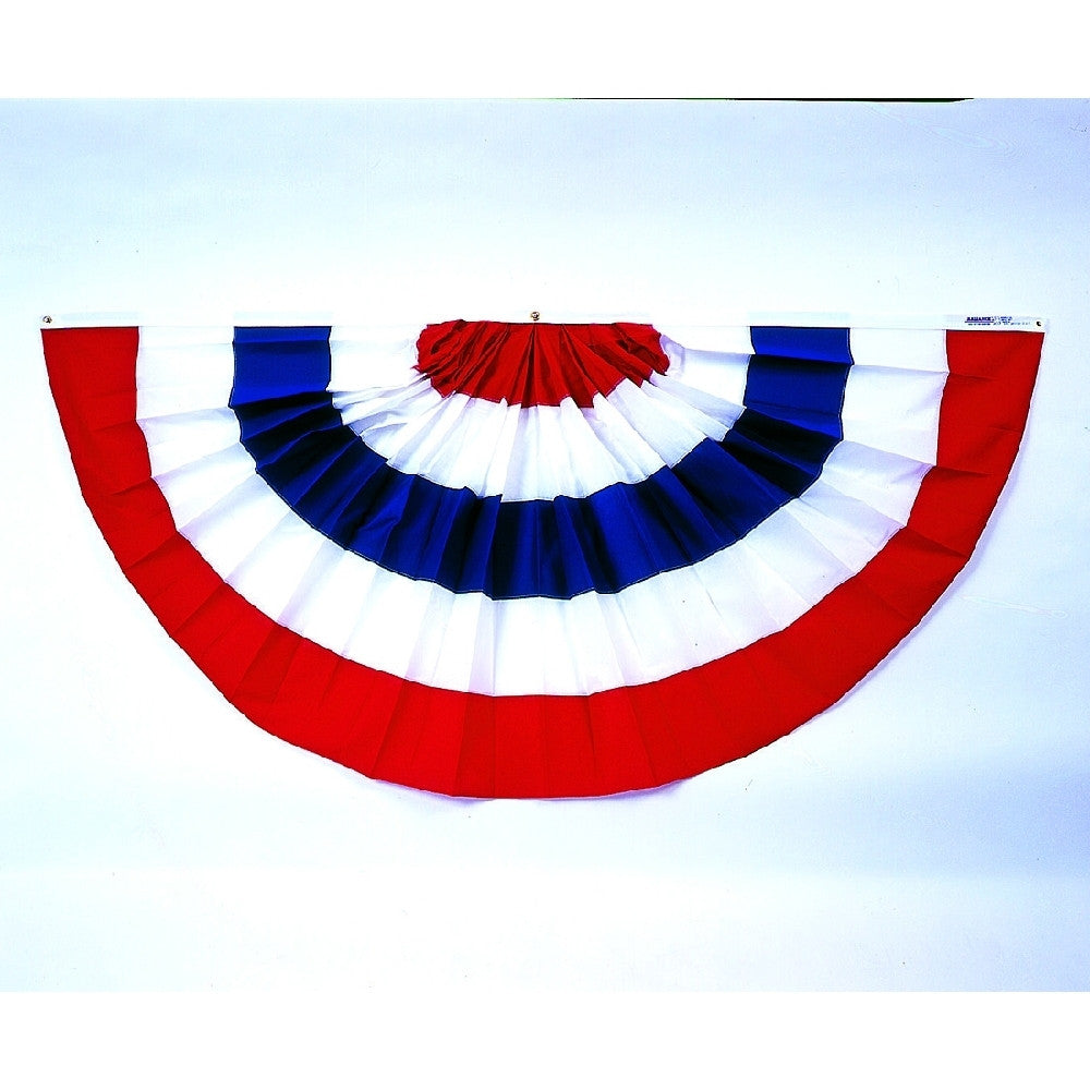 Patriotic Pleated Full Fans - ColorFastFlags | All the flags you'll ever need!