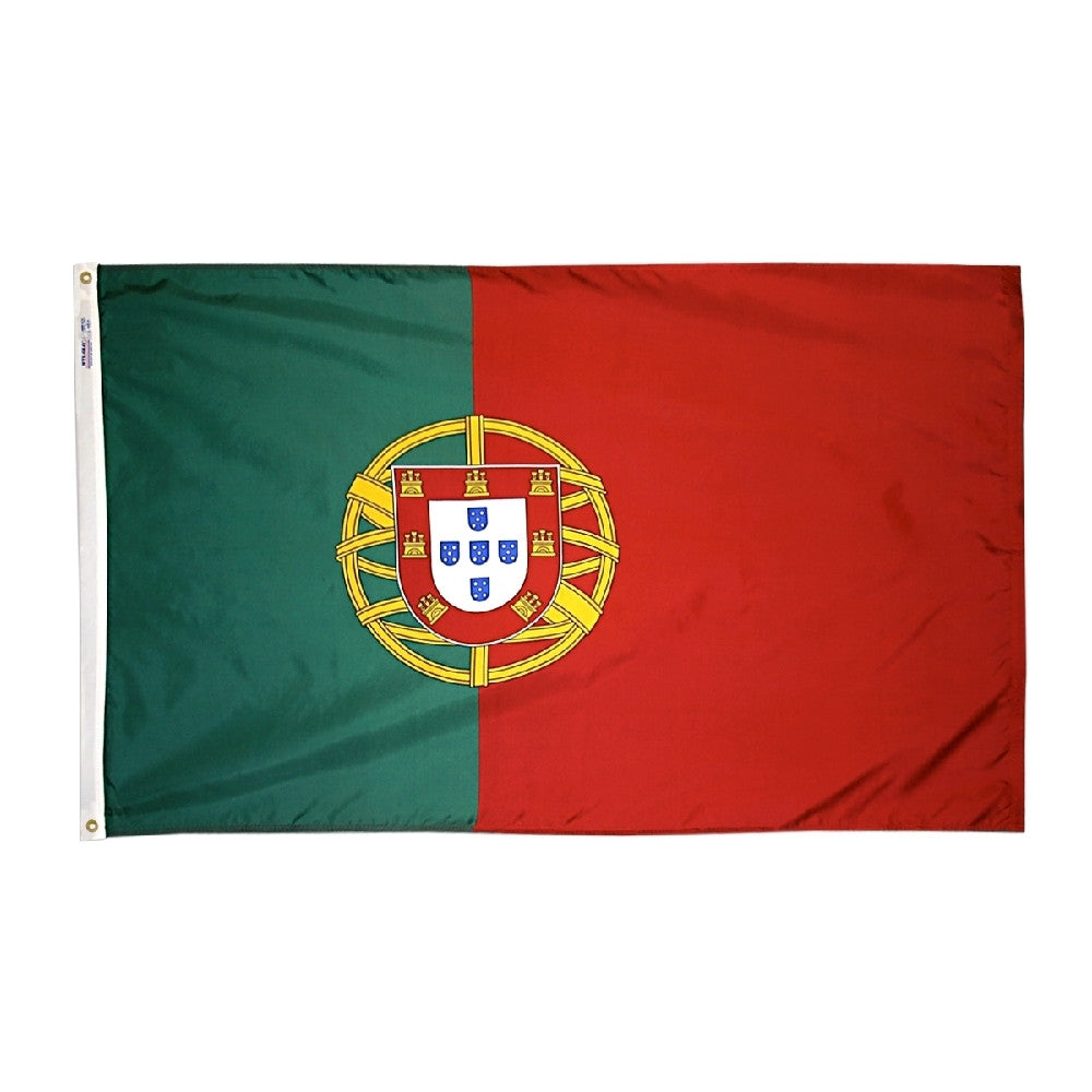 "Portugal Courtesy Flag 12"" x 18"" - ColorFastFlags 