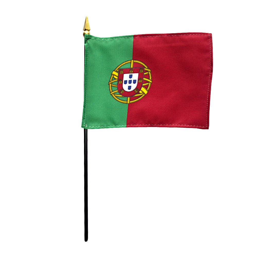 Miniature Portugal Flag - ColorFastFlags | All the flags you'll ever need!