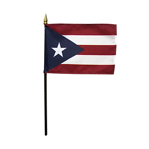 Miniature Flag - Puerto Rico - ColorFastFlags | All the flags you'll ever need!