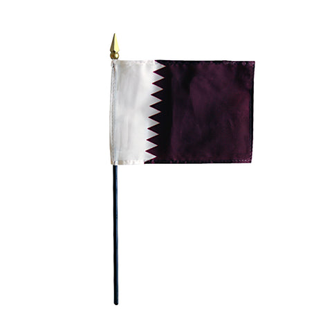 Miniature Qatar Flag - ColorFastFlags | All the flags you'll ever need!