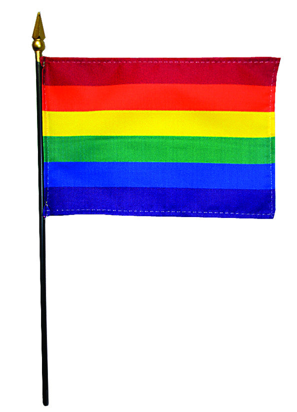 Miniature Rainbow/LGBT Pride Flags - ColorFastFlags | All the flags you'll ever need!