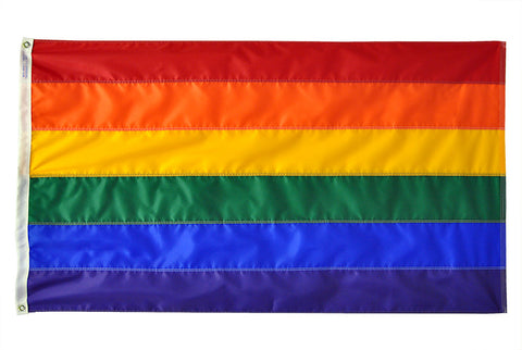 Rainbow/LGBT Pride Flag - ColorFastFlags | All the flags you'll ever need!
