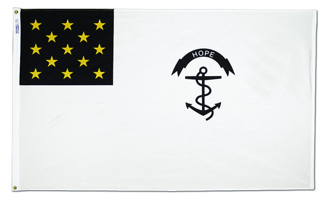 Rhode Island Regiment Flag - ColorFastFlags | All the flags you'll ever need!