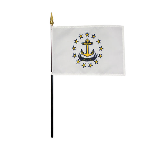 Miniature Flag - Rhode Island - ColorFastFlags | All the flags you'll ever need!
