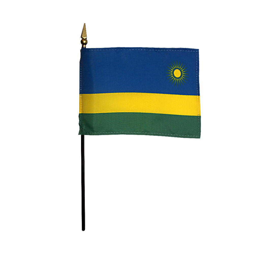Miniature Rwanda Flag - ColorFastFlags | All the flags you'll ever need!   - 2