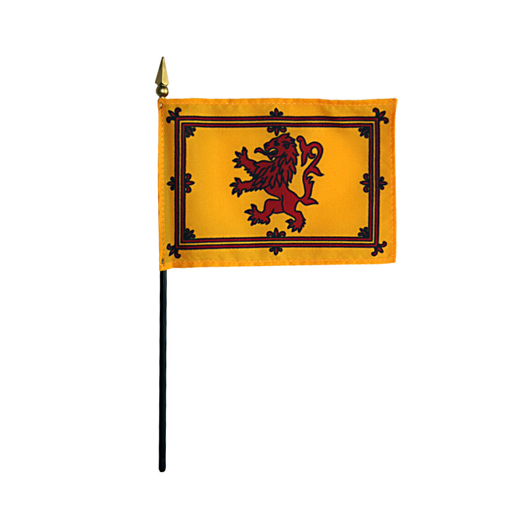 Miniature Scottish Rampant Lion - ColorFastFlags | All the flags you'll ever need!