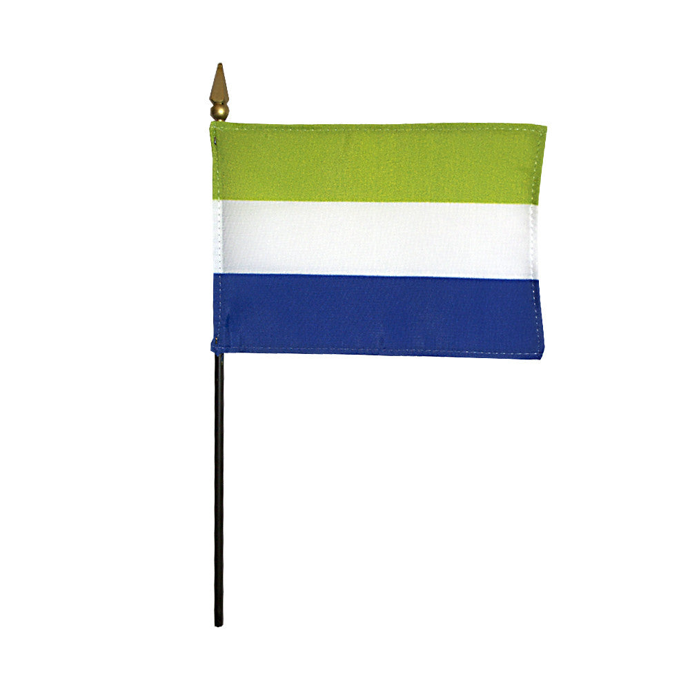 Miniature Sierra Leone Flag - ColorFastFlags | All the flags you'll ever need!   - 2