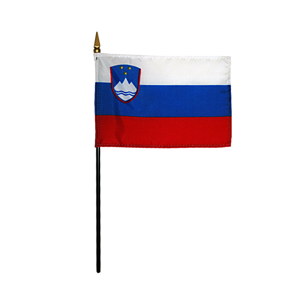 Miniature Slovenia Flag - ColorFastFlags | All the flags you'll ever need!