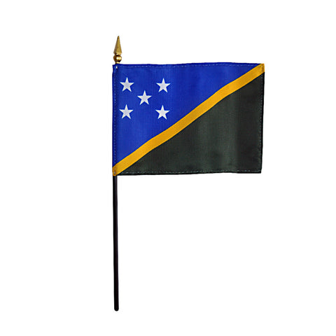 Miniature Solomon Islands Flag - ColorFastFlags | All the flags you'll ever need!
