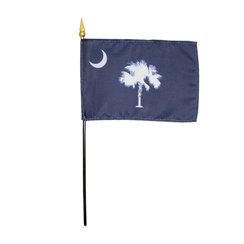Miniature Flag - South Carolina - ColorFastFlags | All the flags you'll ever need!