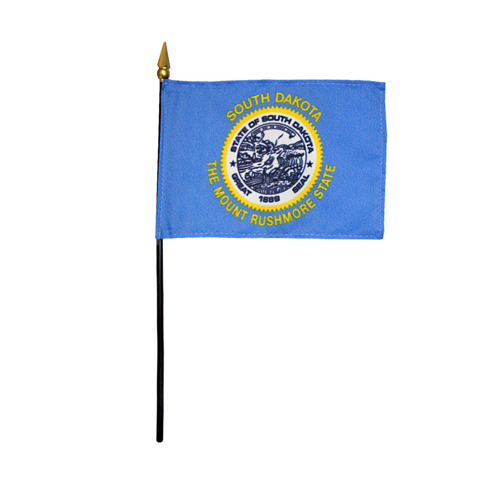 Miniature Flag - South Dakota - ColorFastFlags | All the flags you'll ever need!