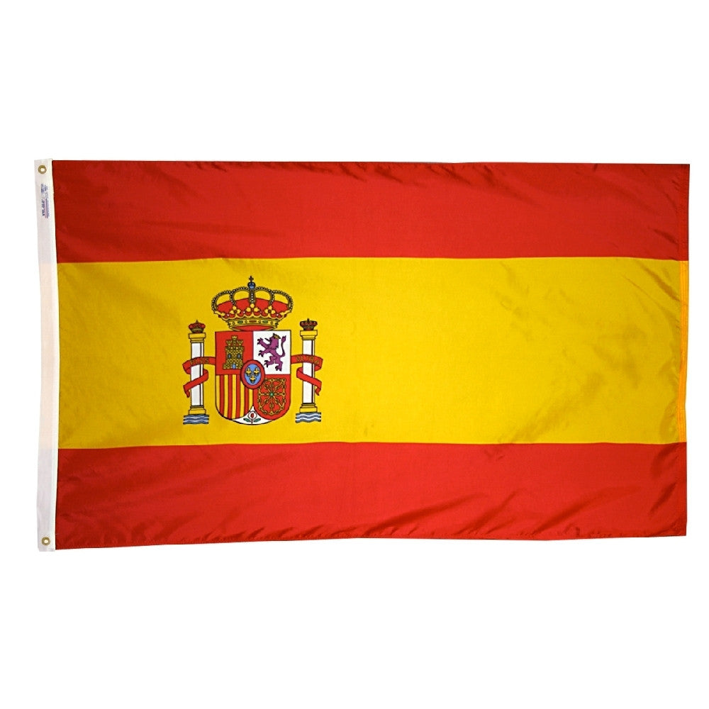 Spain Government Flag - ColorFastFlags | All the flags you'll ever need!