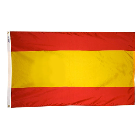 "Spain Courtesy Flag 12"" x 18"" - ColorFastFlags 