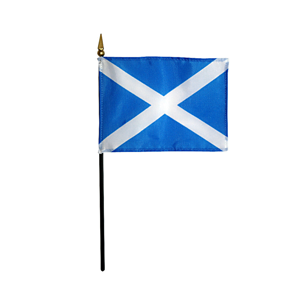 Miniature St. Andrews Cross Flag - ColorFastFlags | All the flags you'll ever need!