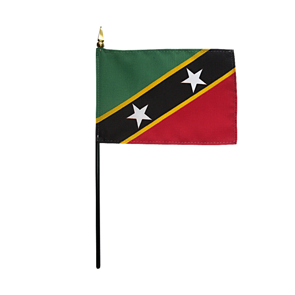 Miniature St. Kitts-Nevis Flag - ColorFastFlags | All the flags you'll ever need!