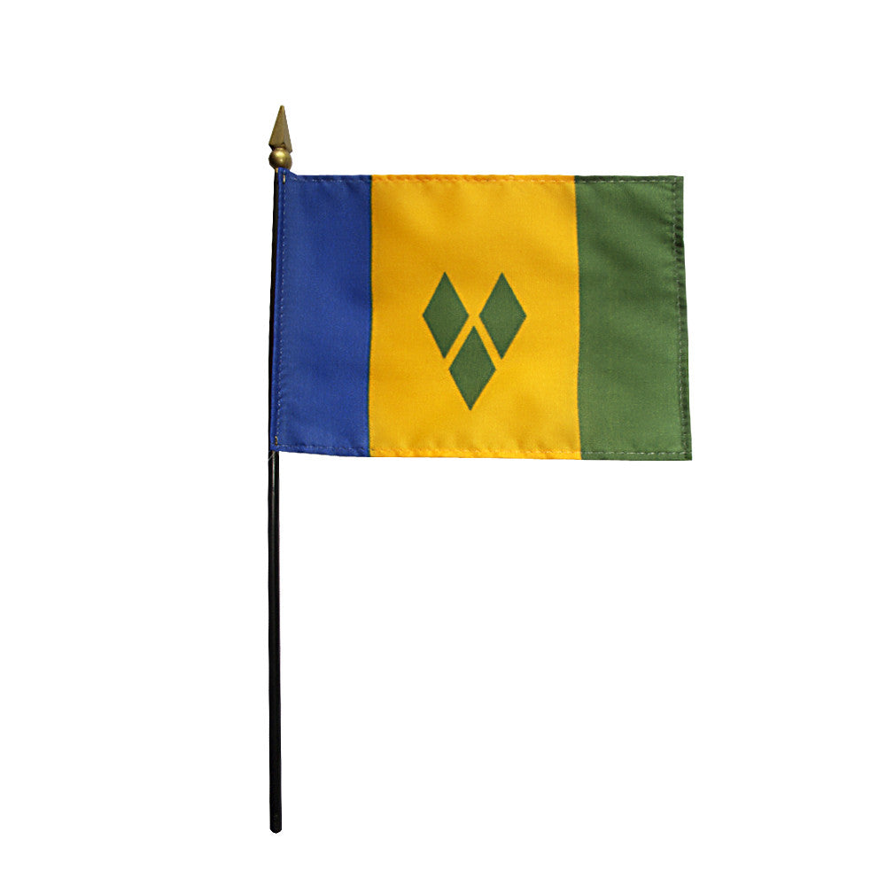Miniature St. Vincent & Grenadines Flag - ColorFastFlags | All the flags you'll ever need!