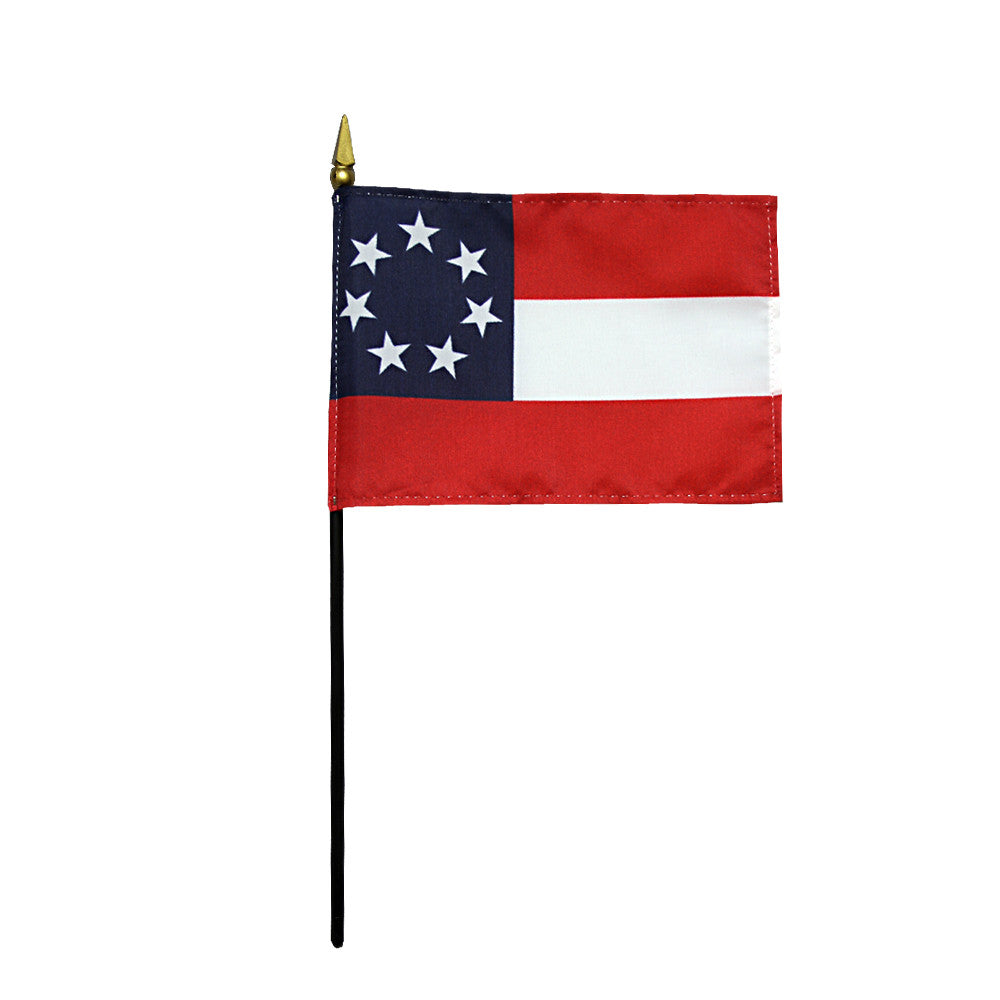 Miniature Stars and Bars Flag - ColorFastFlags | All the flags you'll ever need!