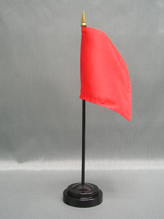 Miniature Stop Race Flag - ColorFastFlags | All the flags you'll ever need!
