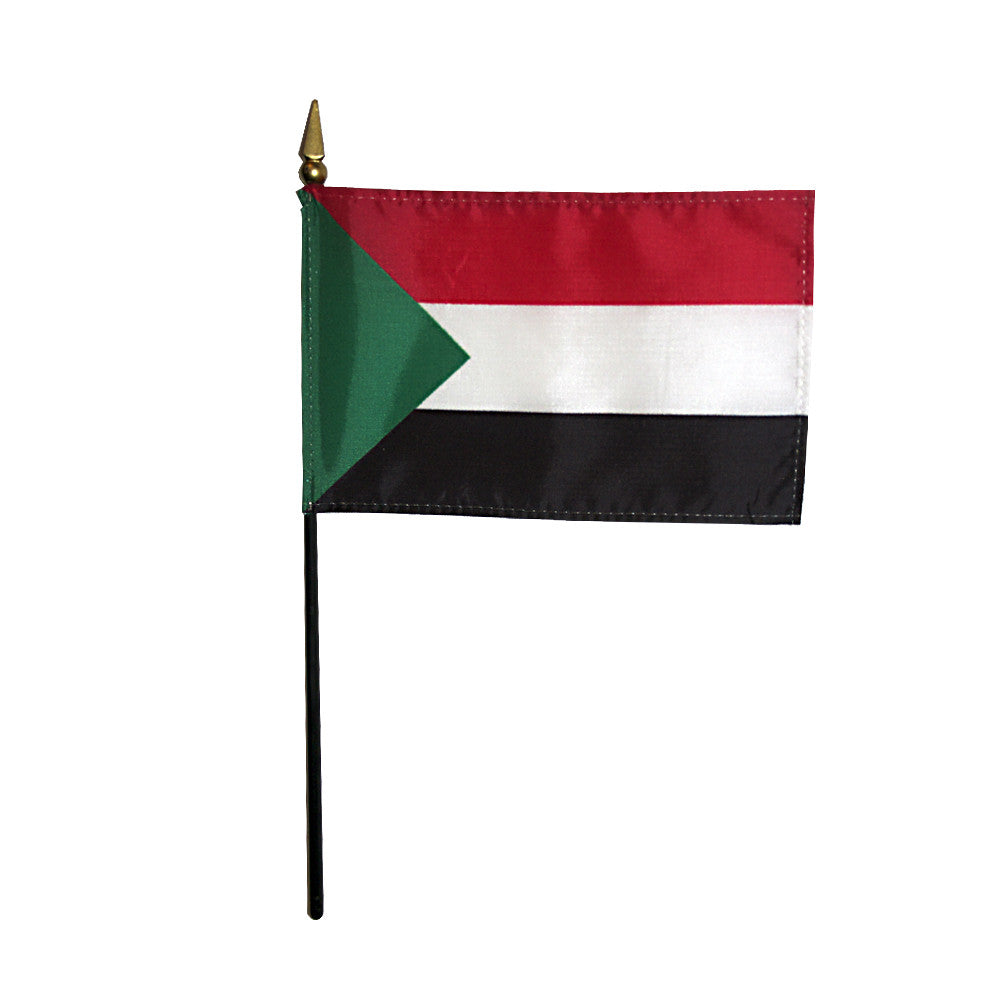 Miniature Sudan Flag - ColorFastFlags | All the flags you'll ever need!